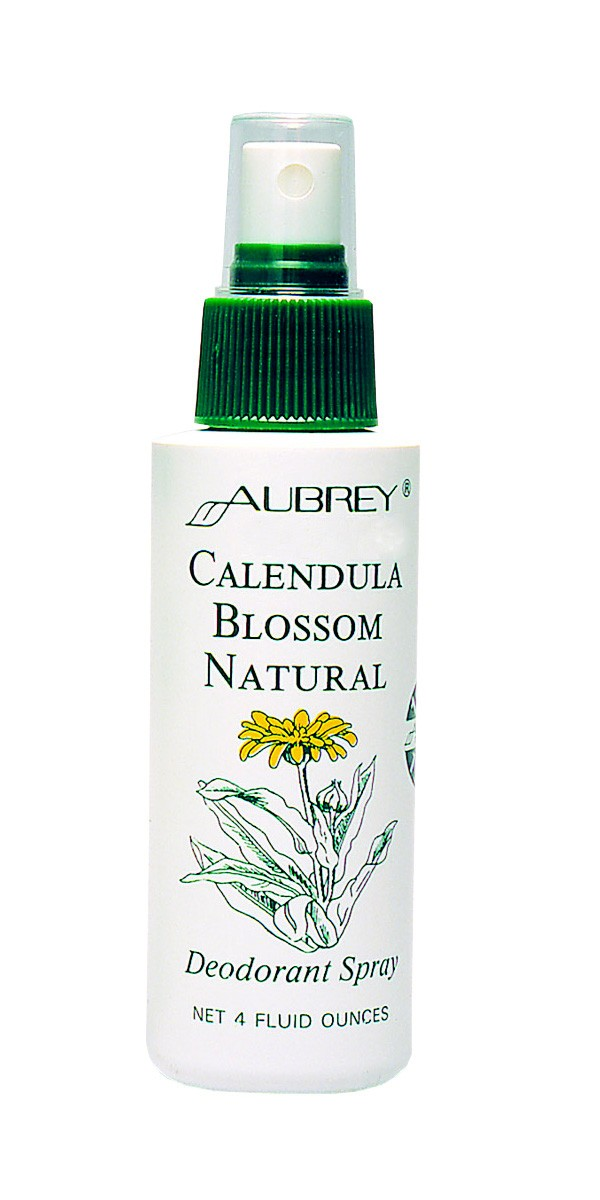 Aubrey Calendula Blossom Natural Deodorant Spray 118 ml