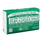 Dr. Bronner's Almond Castile zeep 140 gram