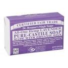 Dr. Bronner's Lavender Castile zeep 140 gram